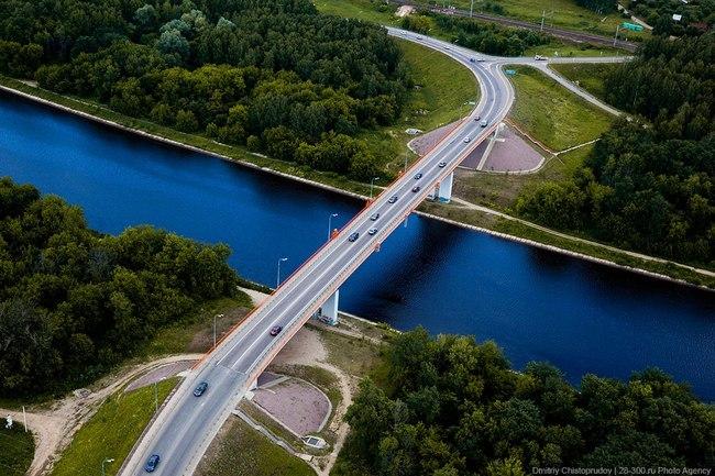 2005 Яхромский мост через канал им. Москвы (Яхрома) - 235м