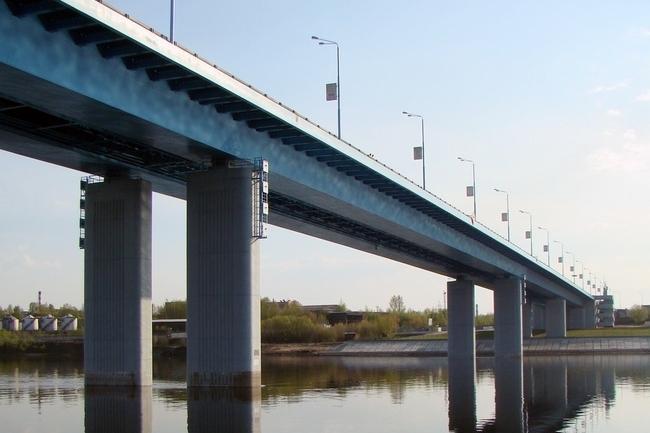 2006.10.13 Юбилейный мост (через реку Волга, Ярославль) - 733м