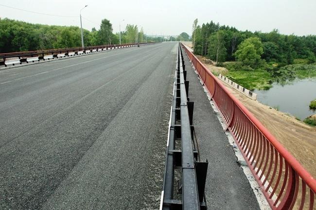 2011.12.28 Мост через реку Миасс (Челябинск, рядом с Шершневской плотиной) - 248м