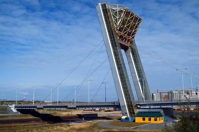 2004.12.24 Мост «Факел» (через реку Шайтанка, Салехард) - 150м