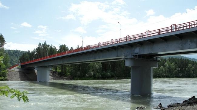 2011.10.07 Мосту через реку Катунь - 199м