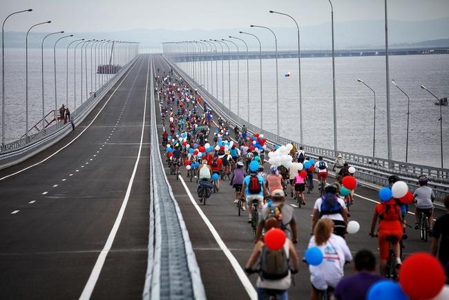 2012.08.11 Низководный мост Де-Фриз - Седанка (через Амурский залив) - 5331м