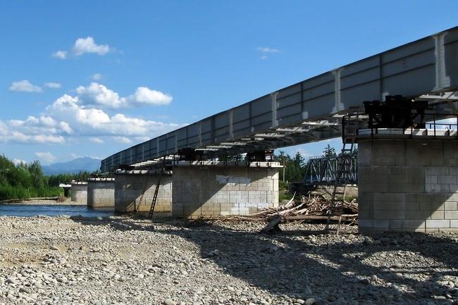2012.10.22 Мост через реку Амгунь (Джамку) - 255м
