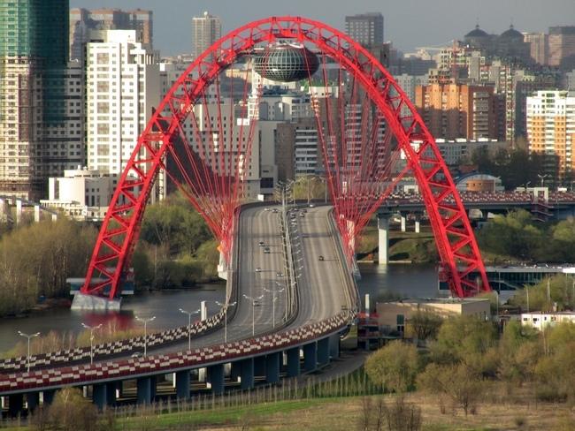 2007.12.27 Живописный мост (Москва) - 1460м