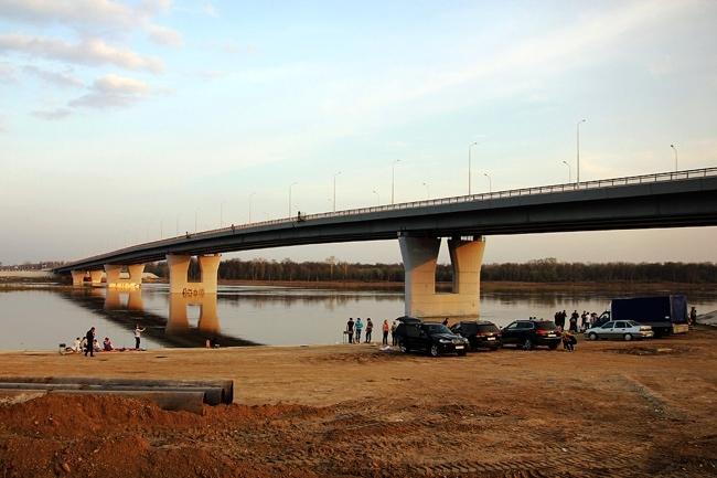 2008.10.09 (2011.05.06) Мост через реку Уфа (Уфа) - 630м