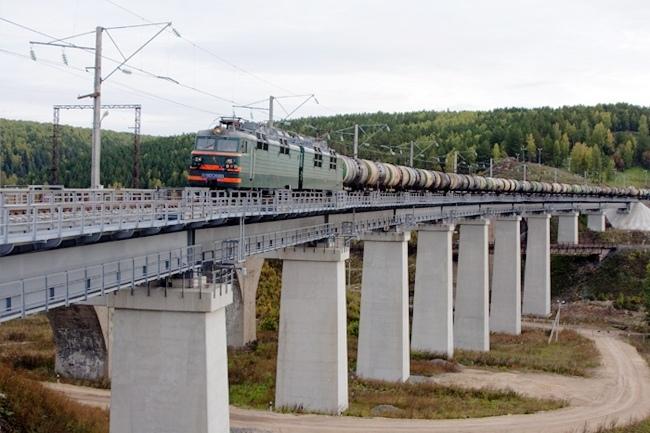 2008.08 Железнодорожный виадук над Рябиновым Логом (Красноуфимск) - 358м