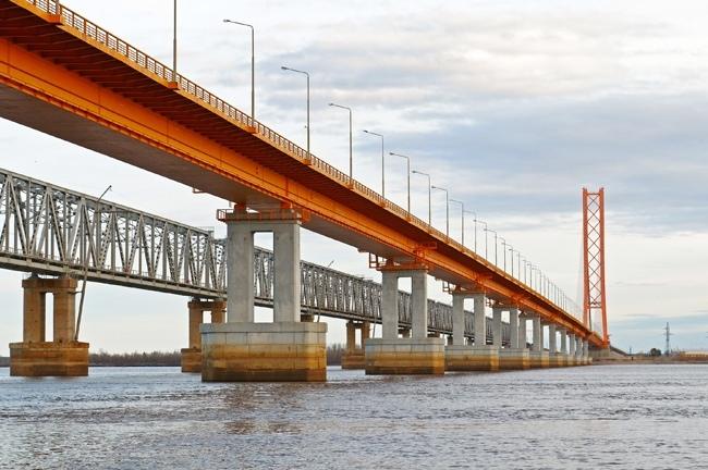 2000.09.16 Сургутский мост (через Обь) - 2110м