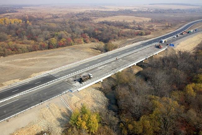 2011.11 Мост через реку Осиновка (М-60) - 110м