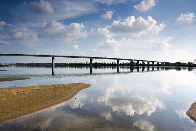 2007.12.09 Мост через реку Вятка (Вятские Поляны) - 1227м