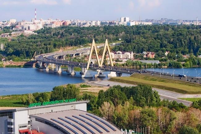 2005.07.29 (2007.08.30) Мост Миллениум (через Казанку, Казань) - 835м