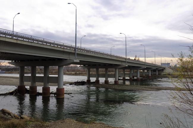 2008.12.25-2009.09 Мост через реку Кубань (Невинномысск) - 205м
