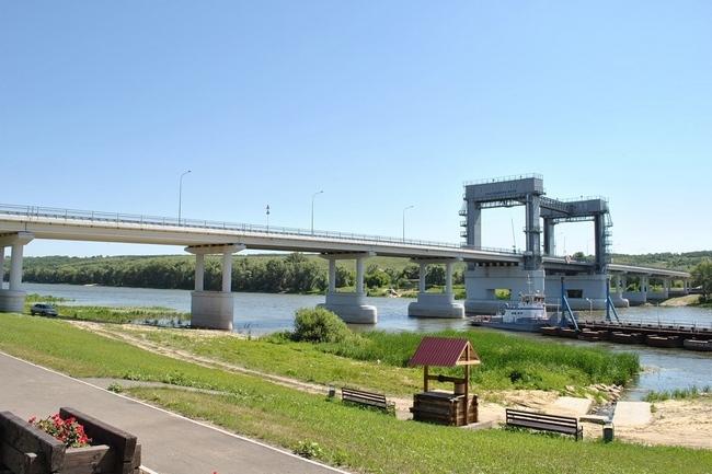 2009.10.03 Разводной мост через Дон (станица Казанская) - 406м
