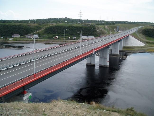 2003.10.31 Братский мост (через Енисей) - 352м