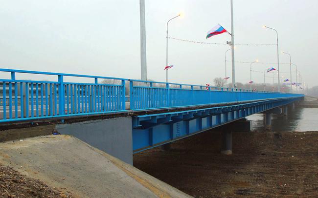 2012.12.06 Мост через реку Терек (Хангиш-Юрт) - 264м