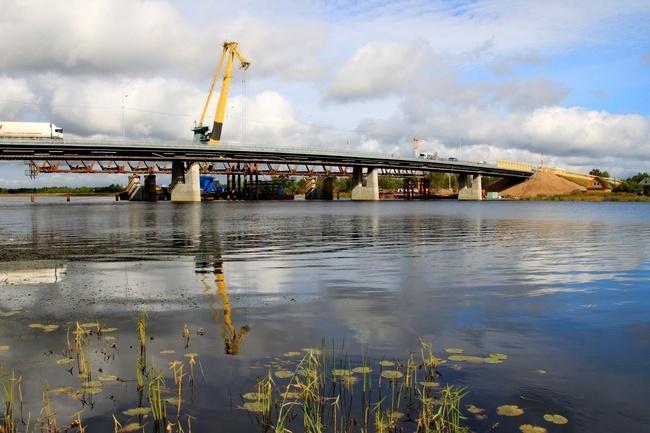 2012.07.14 Мост через реку Паша (трасса М-18, Ленинградская область) - 319м