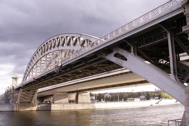 2001 Лужнецкий железнодорожный мост (Москва) - ~135м