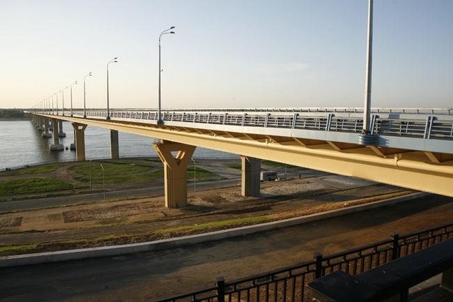 2009.10.10 Волгоградский мост (через реку Волга, Волгоград) - 2360м