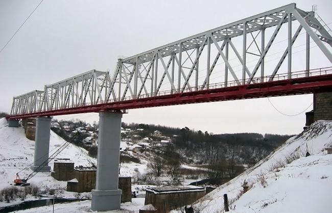 2005.01 Железнодорожный мост через р. Воргол (177 км линии Орел-Елец) - 314м
