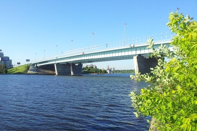 2010.10 Ленинградский мост через канал им. Москвы (2-ой переезд) - 310м