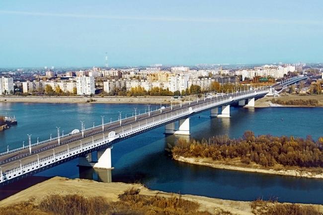 2005.10.18 Мост имени 60-летия Победы (через реку Иртыш, Омск) - 650м