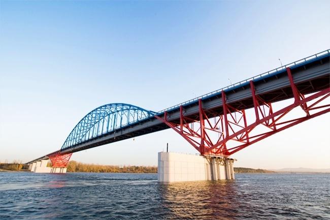 2008.11.13 2008 Мост через Енисей (глубокий обход Красноярска, трасса М53) - 814м