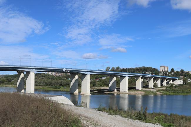 2010.09.28 Мост через реку Ока (2-ой переезд, Алексин) - 484м