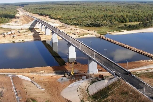 2005.11 Мост через реку Ветлуга (Копорулиха, Марий Эл) - 560м