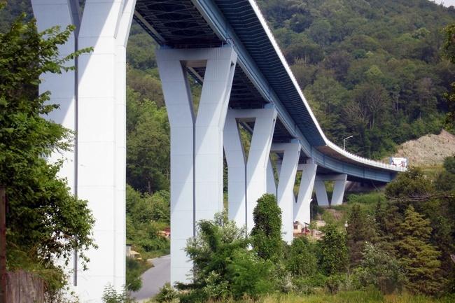 2003 Мост через долину реки Мацеста (Сочи) - 910м