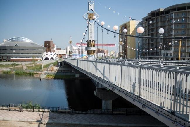 2012.07.26 Мост через озеро Сайсары (Якутск) - 117м