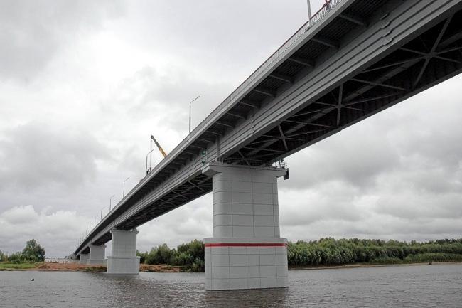 2005.08.25 Мост через реку Чулым (Асиновского и Первомайского районов Томской области) - 734м