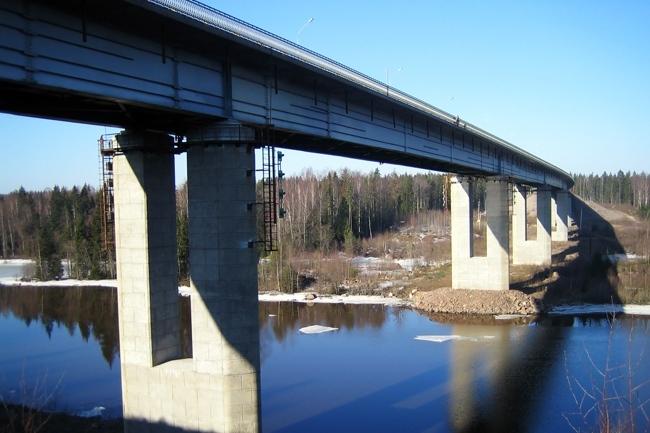 1999.09 Мост через Сайменский канал (Бухта Защитная) - 434м
