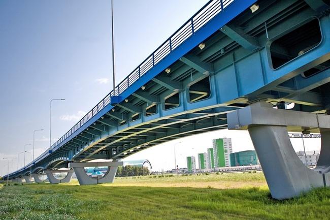 2008.06 Путепровод-эстакада на объездной дороге в обход г. Ханты-Мансийска - 679м