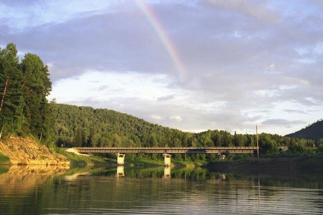2002 Мост через реку Лебедь (Турочак, Алтай) - 170м