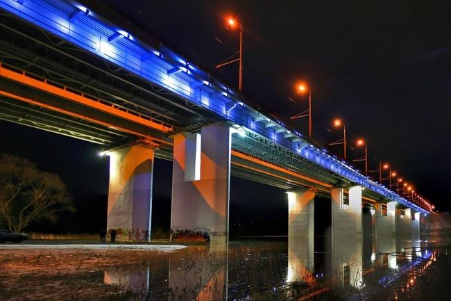2007.11.23 Гагаринский мост через реку Ока (2ой переезд, Калуга) - 650м