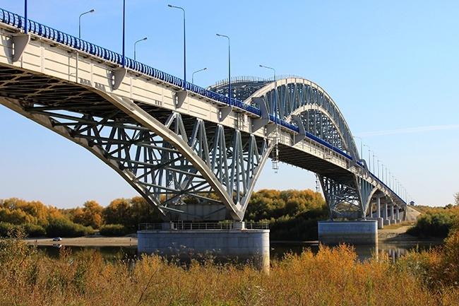 2004 Самсоновский мост через Иртыш (Самсоново, Тарский район Омской области) - 700м