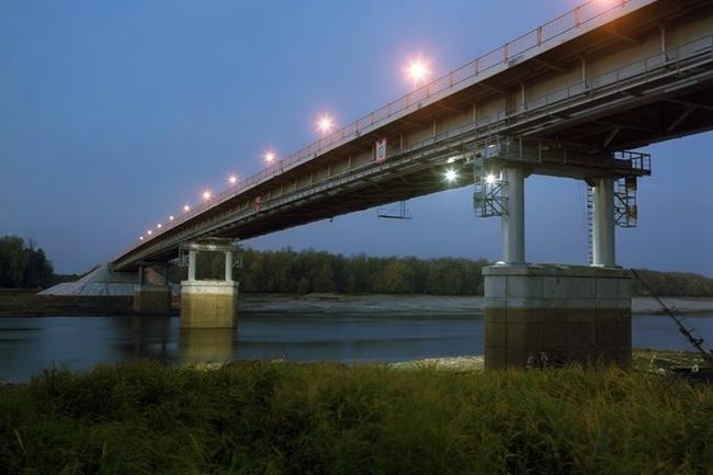 2009.09 Мост через реку Тавда (Нижняя Тавда) - 372м
