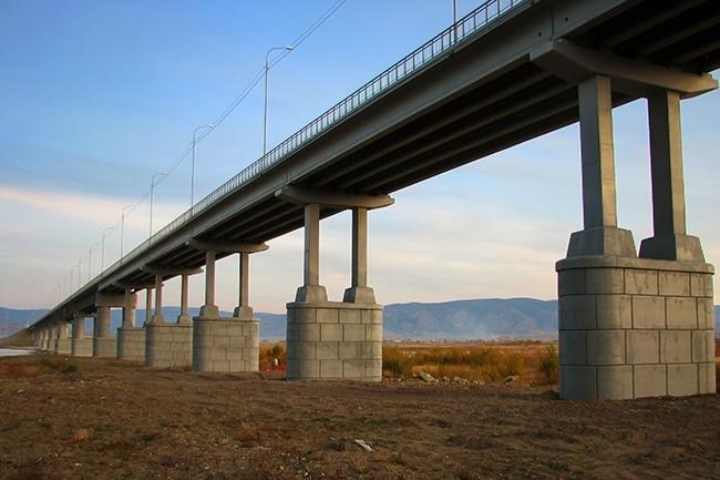 2007.10.24 Мост через реку Селенга (Тресково) - 774м