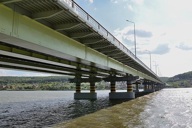 2011.11.03 Мост через Белгородское водохранилище (Соломино) - 556м