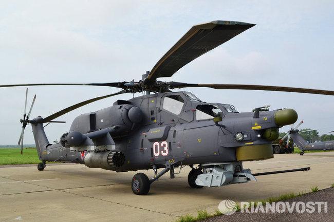 да и на Ми-28Н с Ми-35М тоже