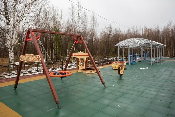 В селе Сургутского района открыли новую многофункциональную площадку Фото: Администрация Сургутского района