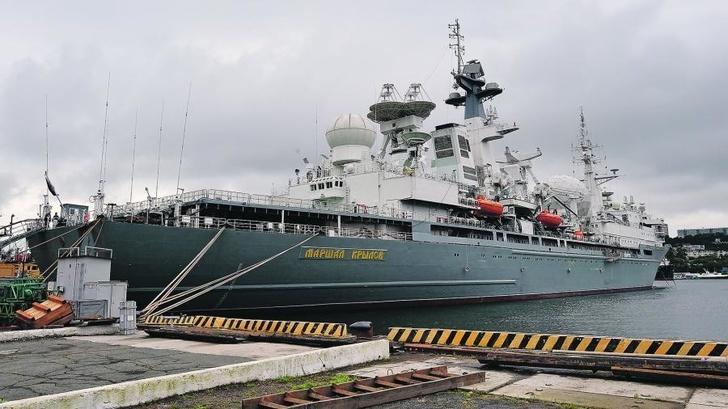 """Тихоокеанскому флоту передан корабль """"Маршал Крылов"""""""