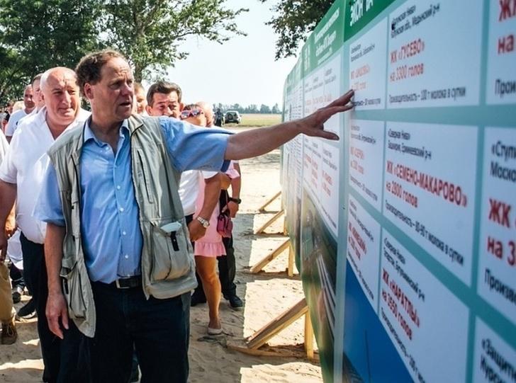 В Курской области заложили животноводческий комплекс на 3,3 тыс. коров