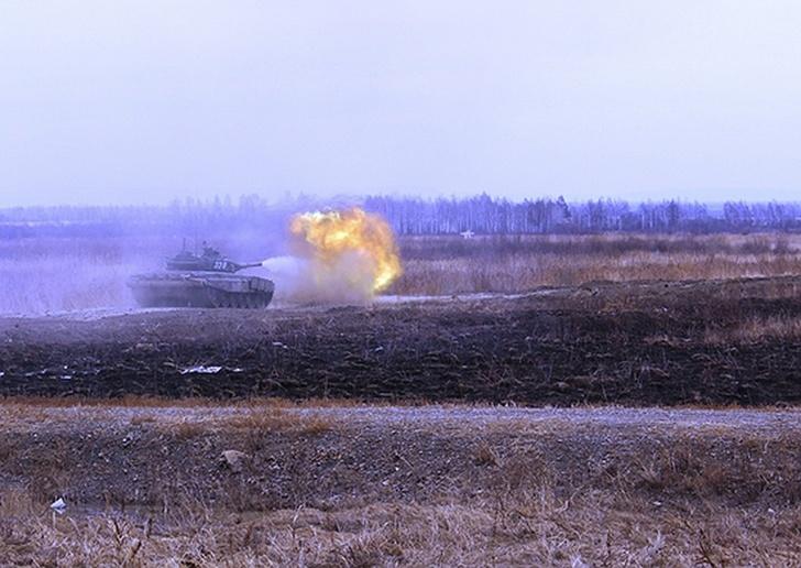 Т-72Б3М на полигоне Дальневосточного высшего общевойскового командного училища