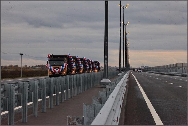 В Ленинградской области открыт участок обхода Гатчины на трассе Р-23