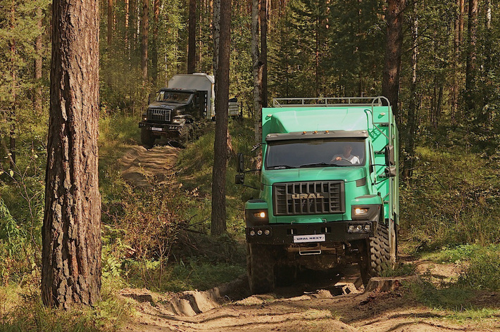 Тест-драйв Ural Next от Am.ru