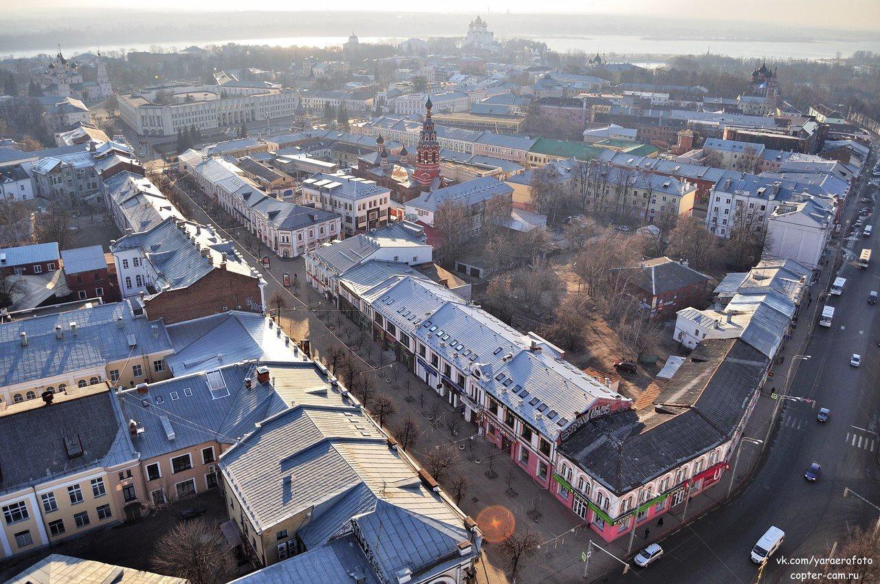 фото ярославль с высоты птичьего полета