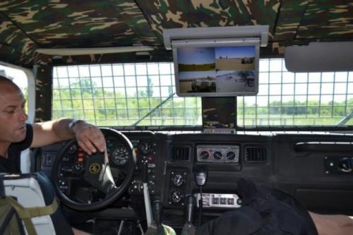 Бронеавтомобиль 'Тигр' национальной гвардии Уругвая