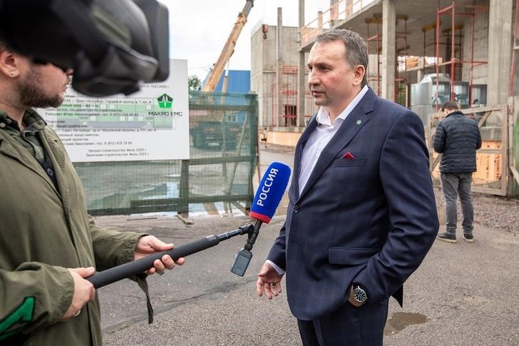 Макро Групп строит завод по контрактному производству электроники в Санкт Петербурге