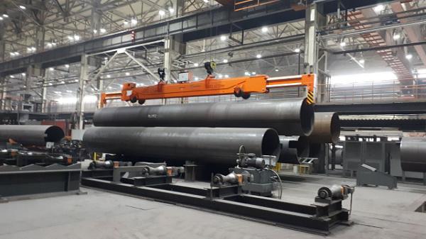 Загорский трубный завод модернизировал крановое хозяйство