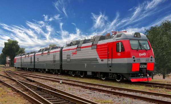 ТМХ передал РЖД 4 электровоза 4ЭС5К